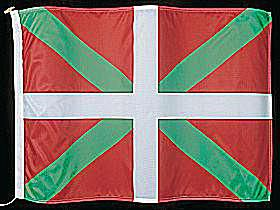 The flag of Basque Country