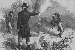 Burr shooting Hamilton