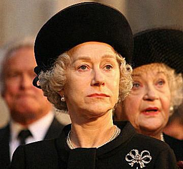 Dame Helen Mirren in the movie