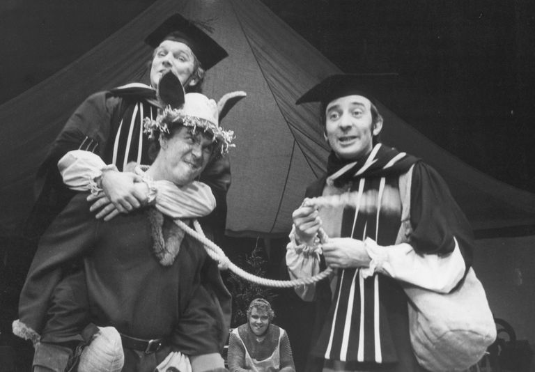 A scene from the Christmas Production of Chaucer's Canterbury Tales