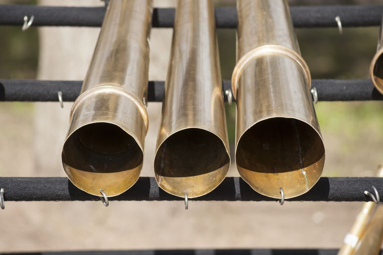 long brass tubes