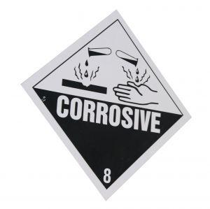 Paracetic acid is corrosive.