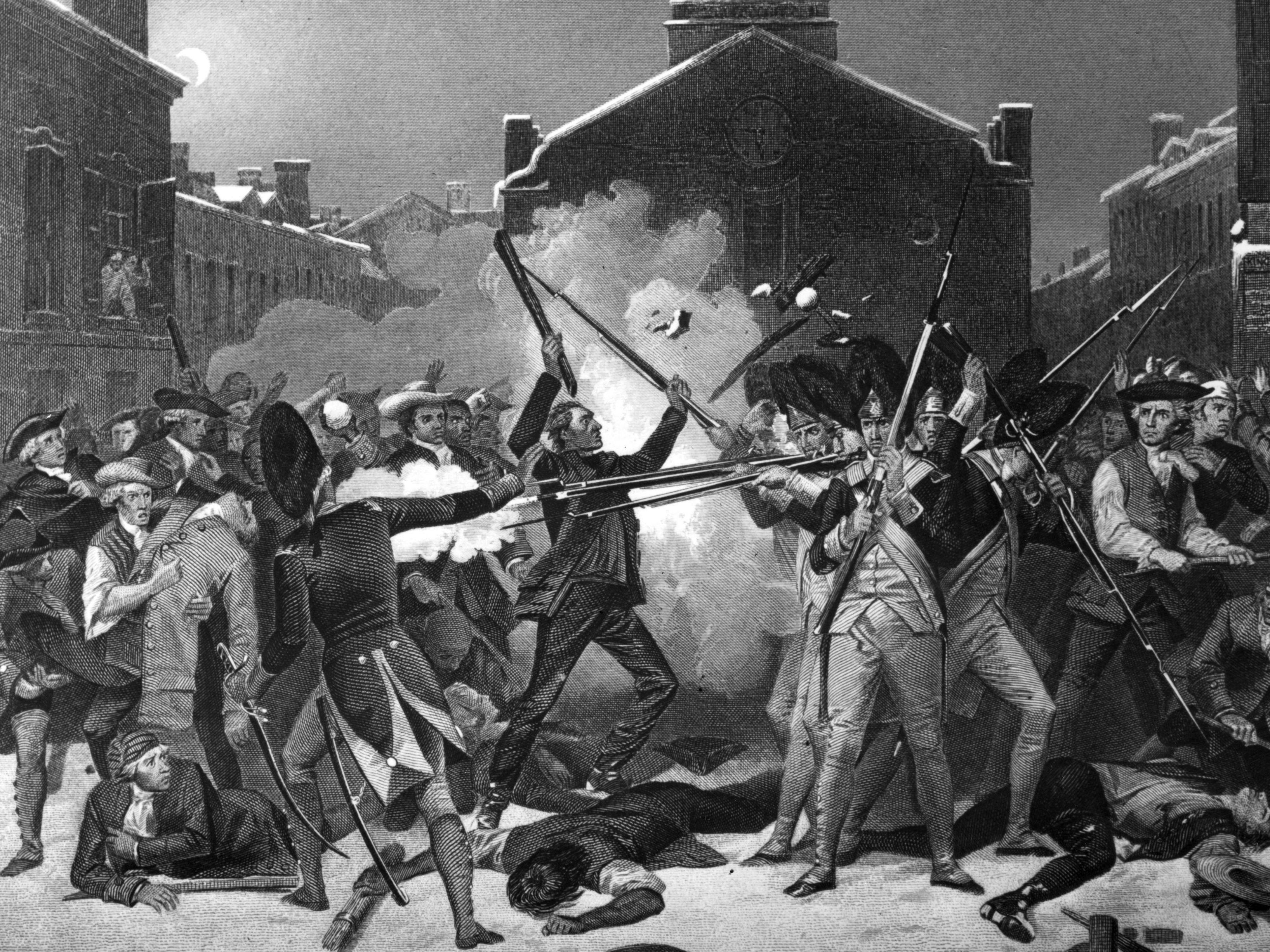Questions Left Bythe Boston Massacre