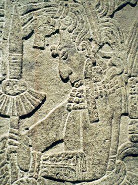 Maya Relief from Yaxchilan
