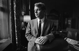photo of US Attorney General Robert F. Kennedy