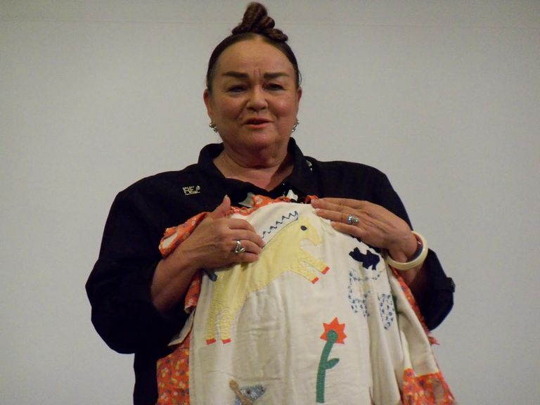 Children's author and illustrator Patricia Polacco