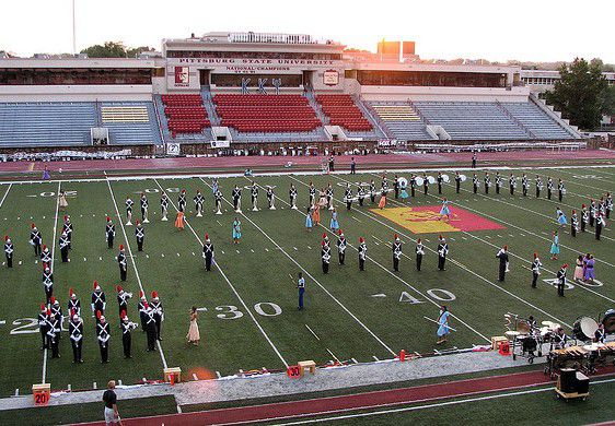 Drum Corps International at the Pittsburg State Stadium