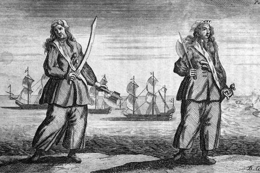 Anne Bonny and Mary Read