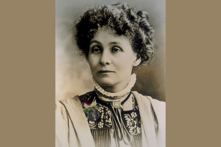 Emmeline Pankhurst, about 1909