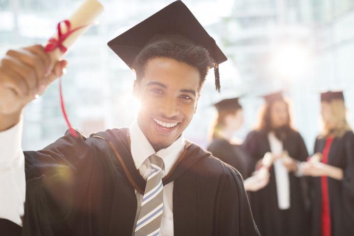 Graduating student.