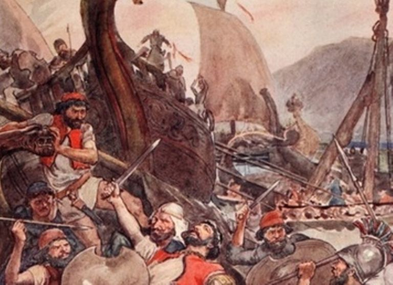 Battle of Salamis in the Persian Wars