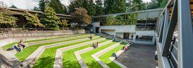 Lewis & Clark Law School's outdoor amphitheater