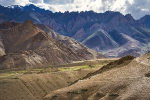 Mountain pass in Kashmir