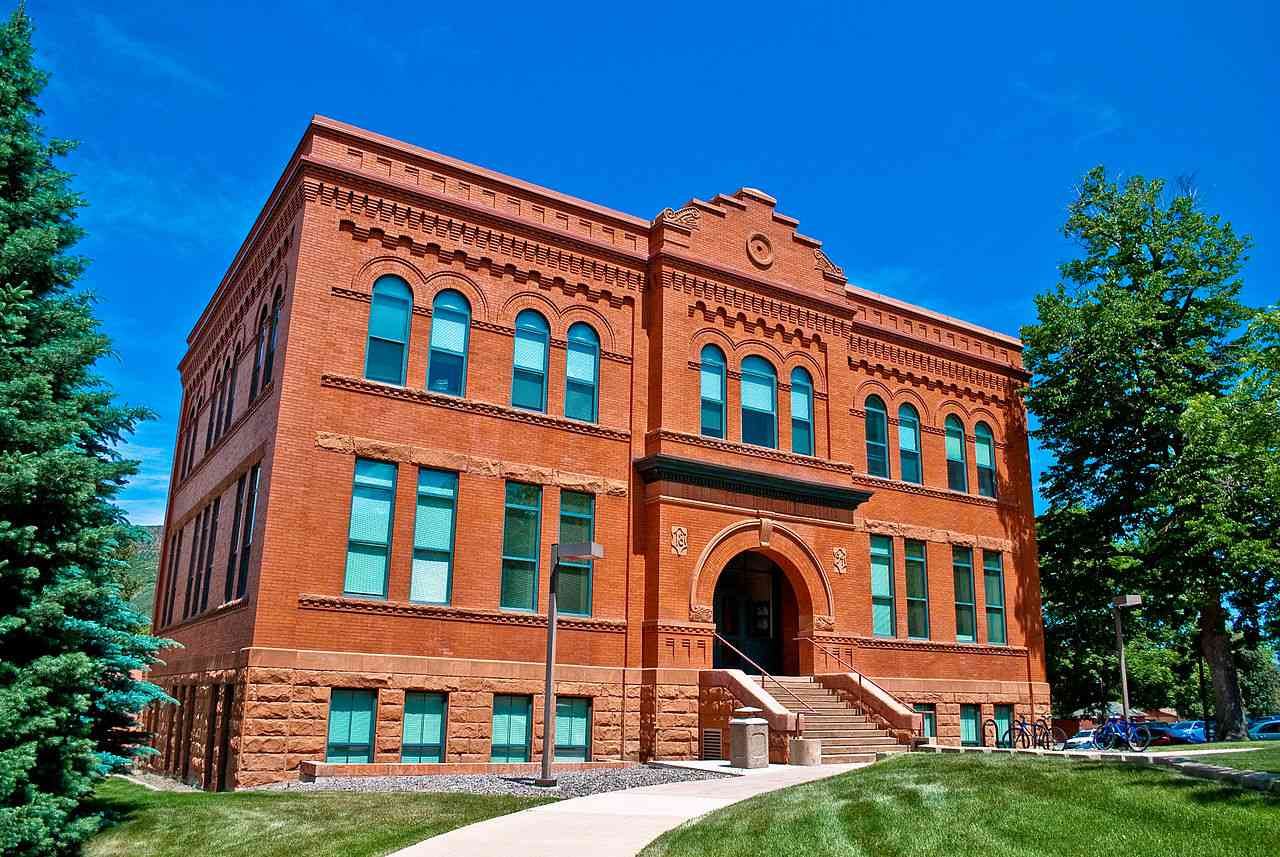 Stratton Hall at the Colorado School of Mines in Golden, CO