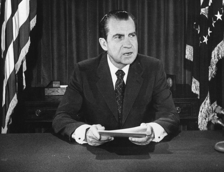 Richard Nixon, 37th President of the United States