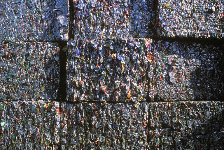 Recycling Center, Los Angeles, California, USA.
