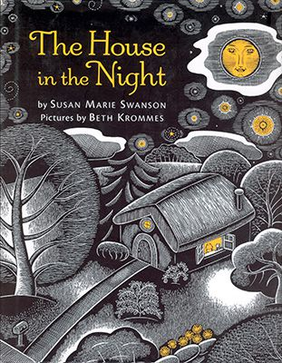 Cover art of the children's picture book bedtime story The House in the Night