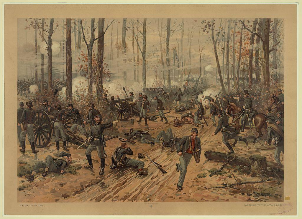 Battle of Shiloh in the American Civil War