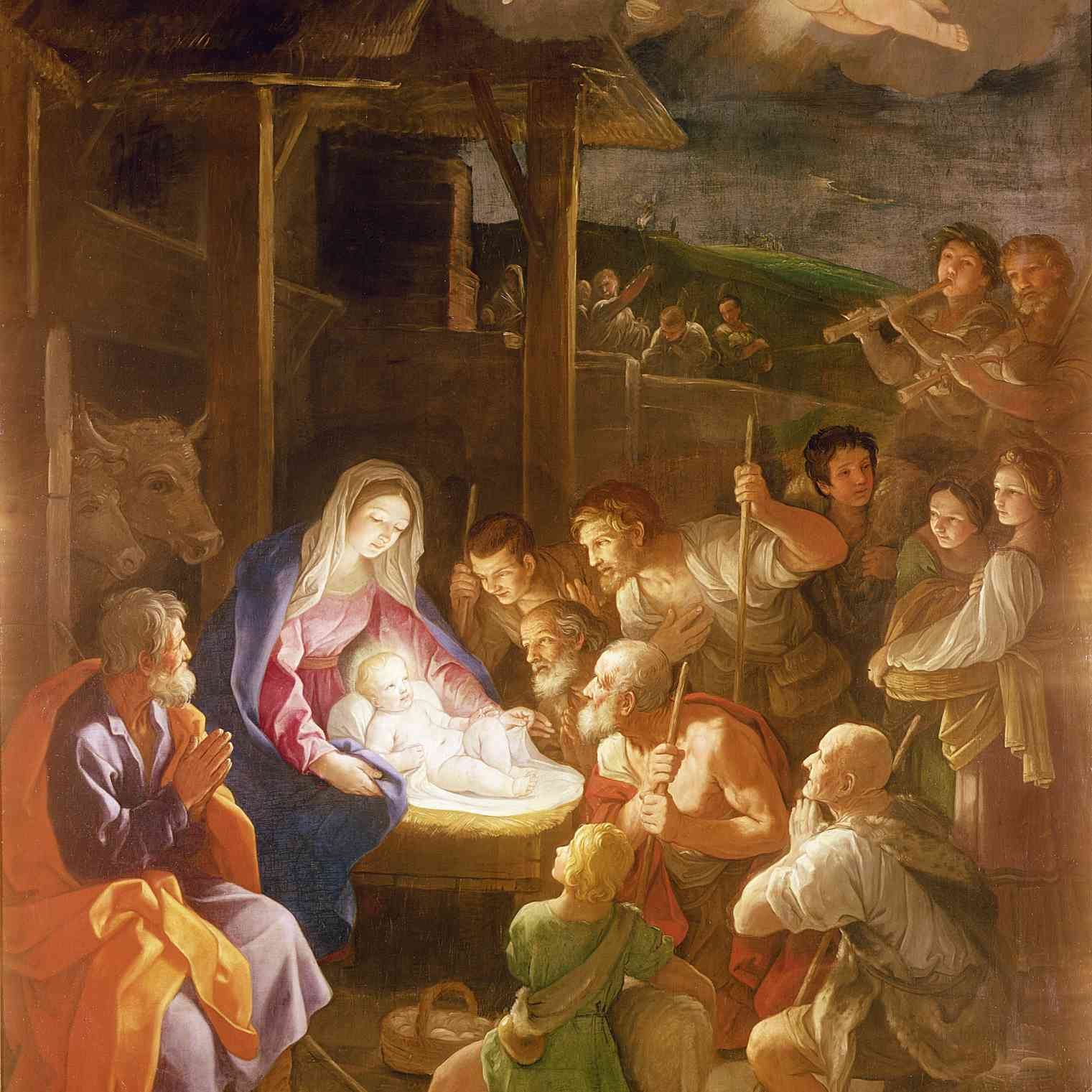 What Was Max Born Famous For >> Paintings of the Nativity