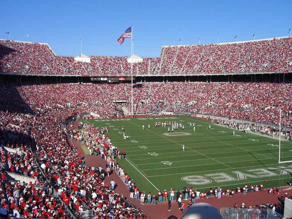 Ohio Stadium at the Ohio State University