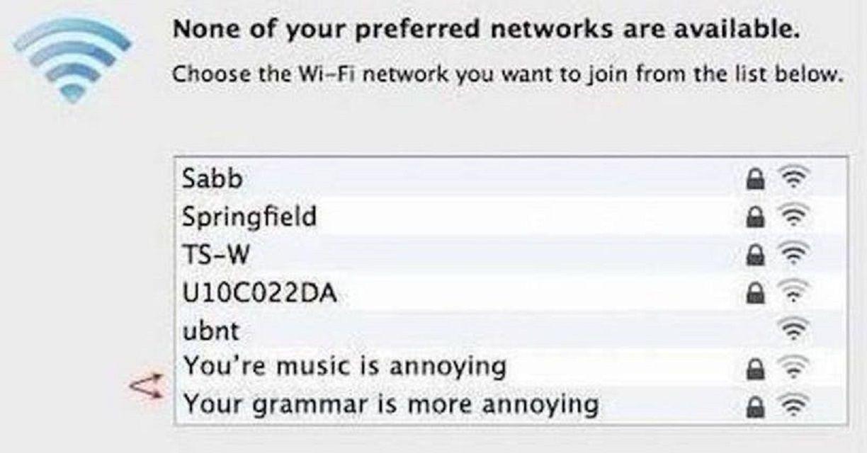 funny network names reddit