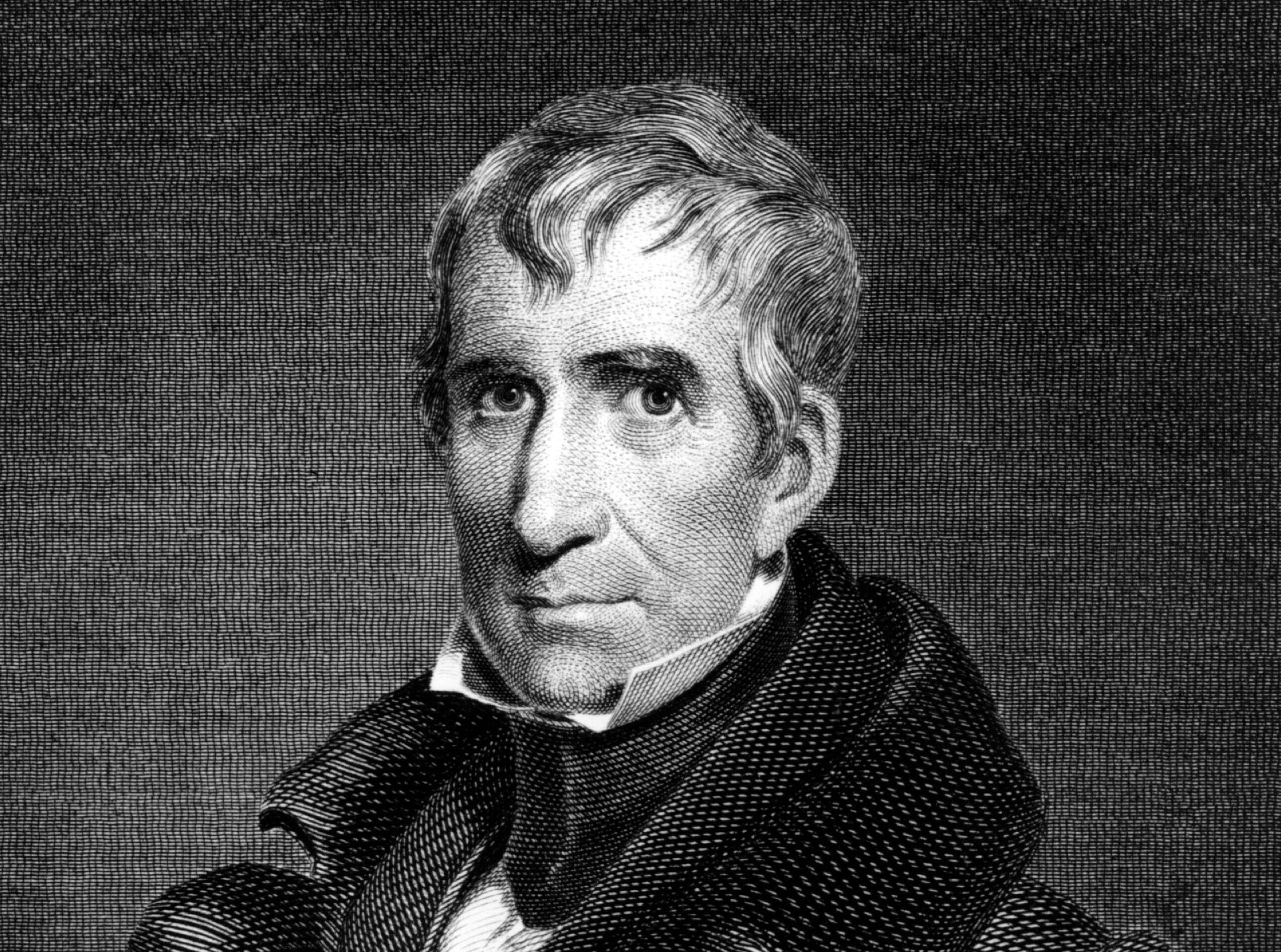 Portrait of President William Henry Harrison