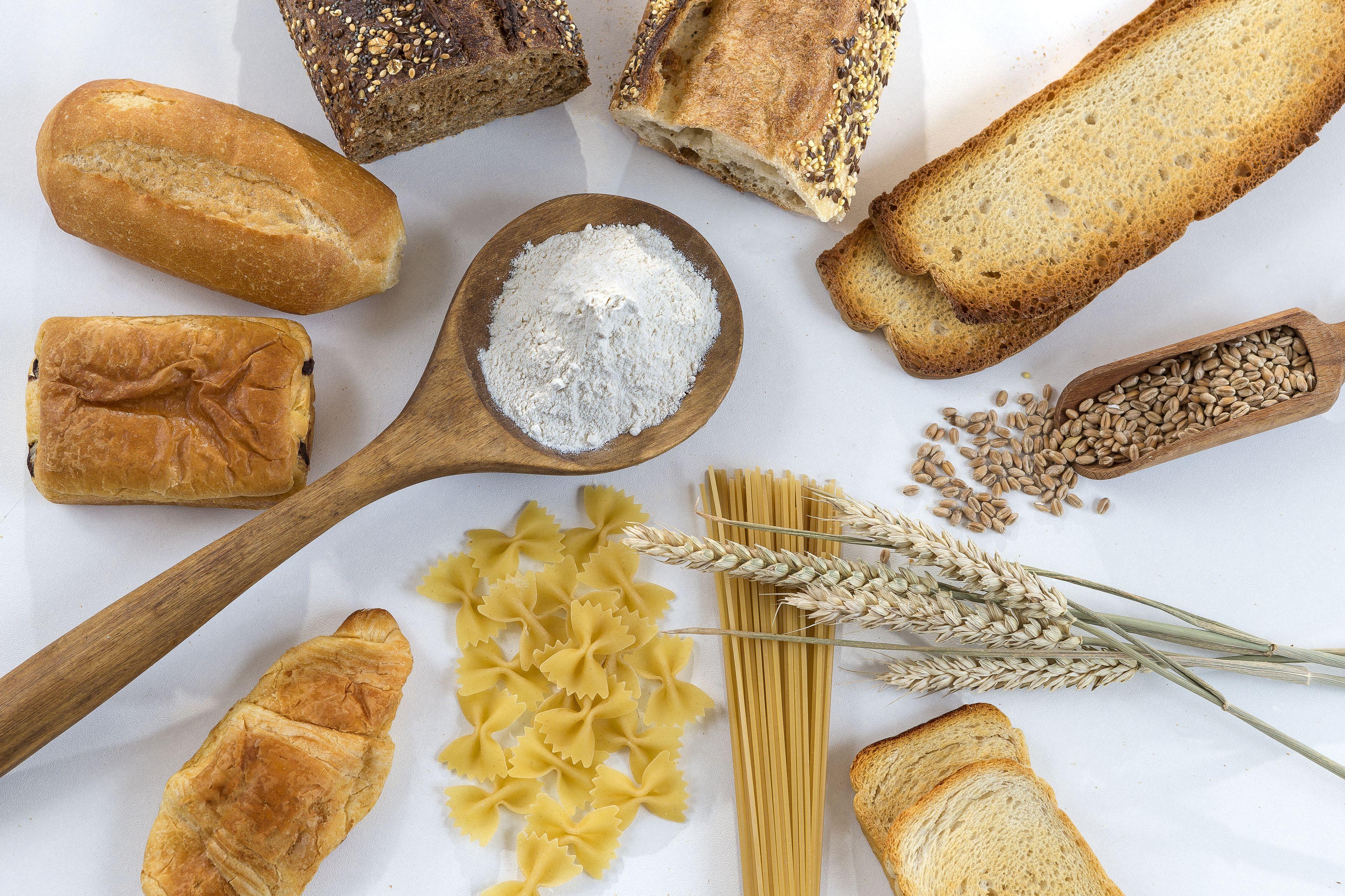 vilken mat innehåller gluten