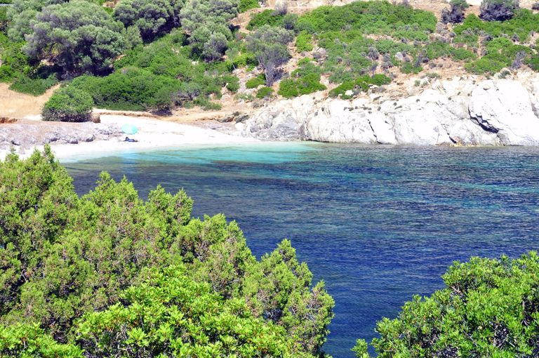 Sardinia, Chia, small beach
