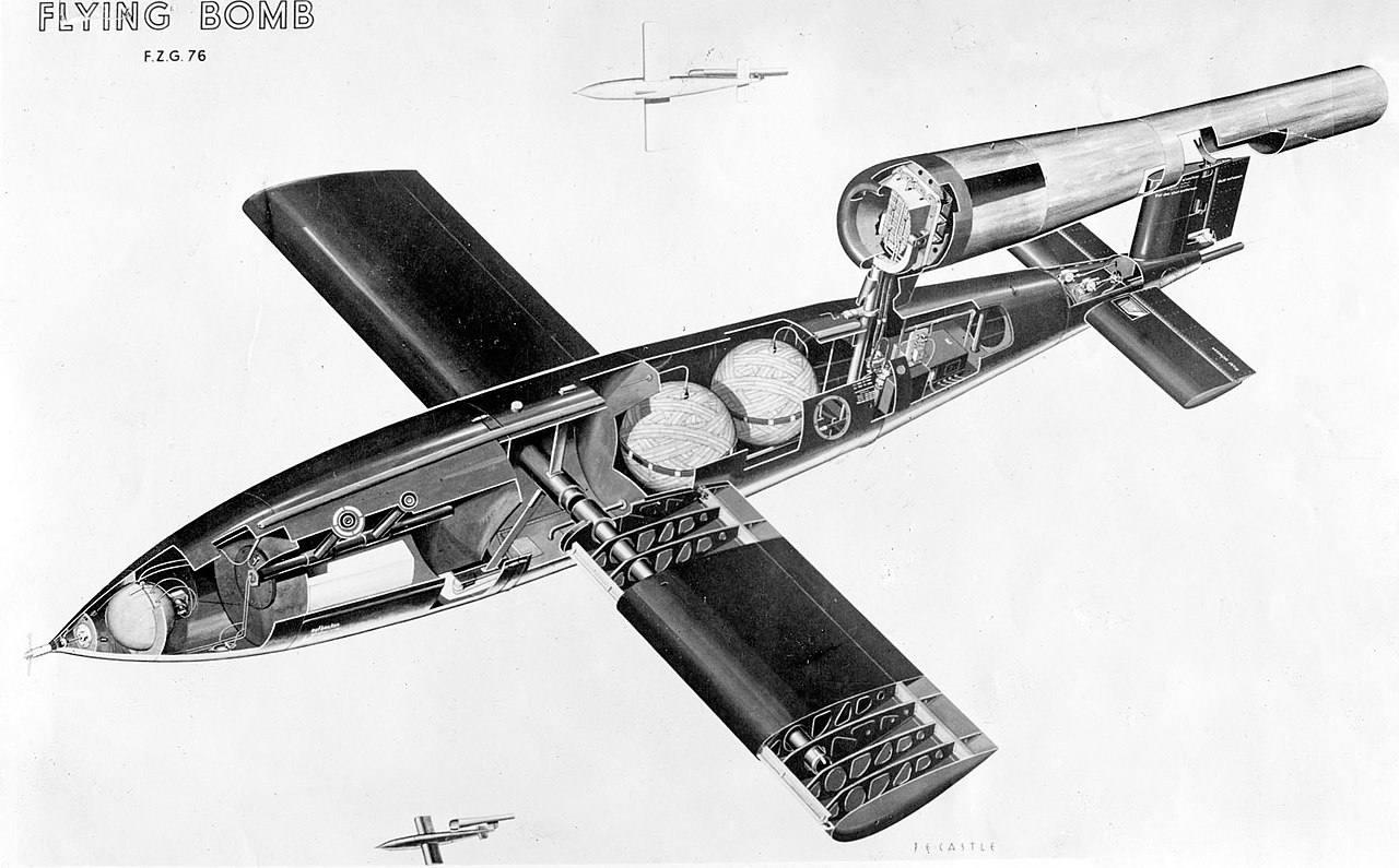 V-1 cutaway