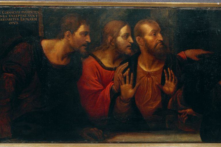 The Apostles Bartholomew, James, and Andrew