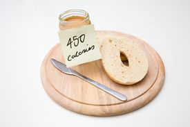 Food calories are actually kilocalories. Because this is confusing, food energy may be reported in kilojoule units.