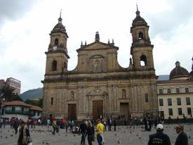 Cathedral in Bogota, Colombia
