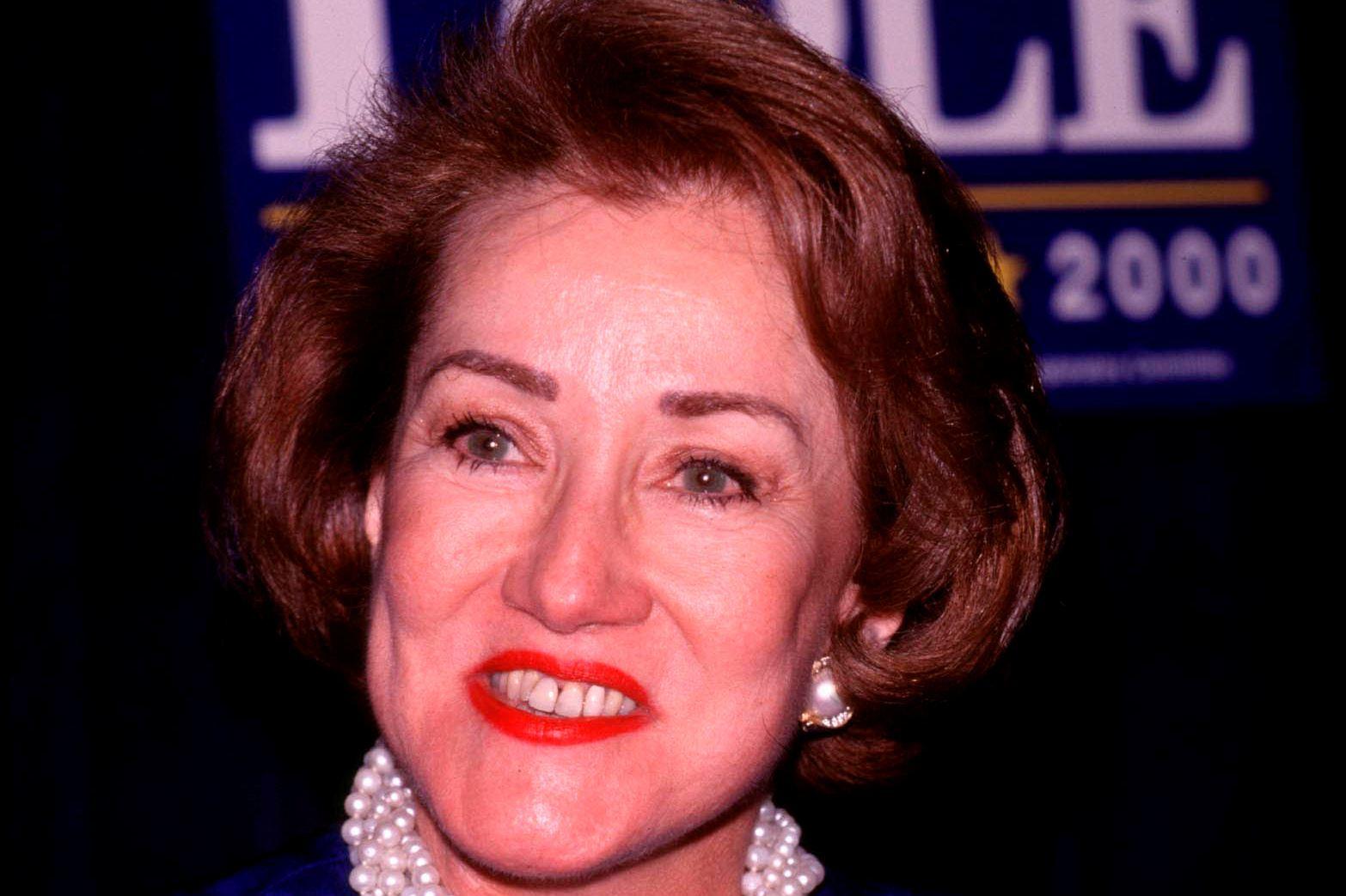 Republican Presidential Candidate Elizabeth Dole, 1999