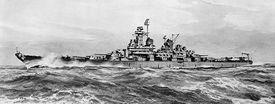 Montana-class Battleship, artist's rending