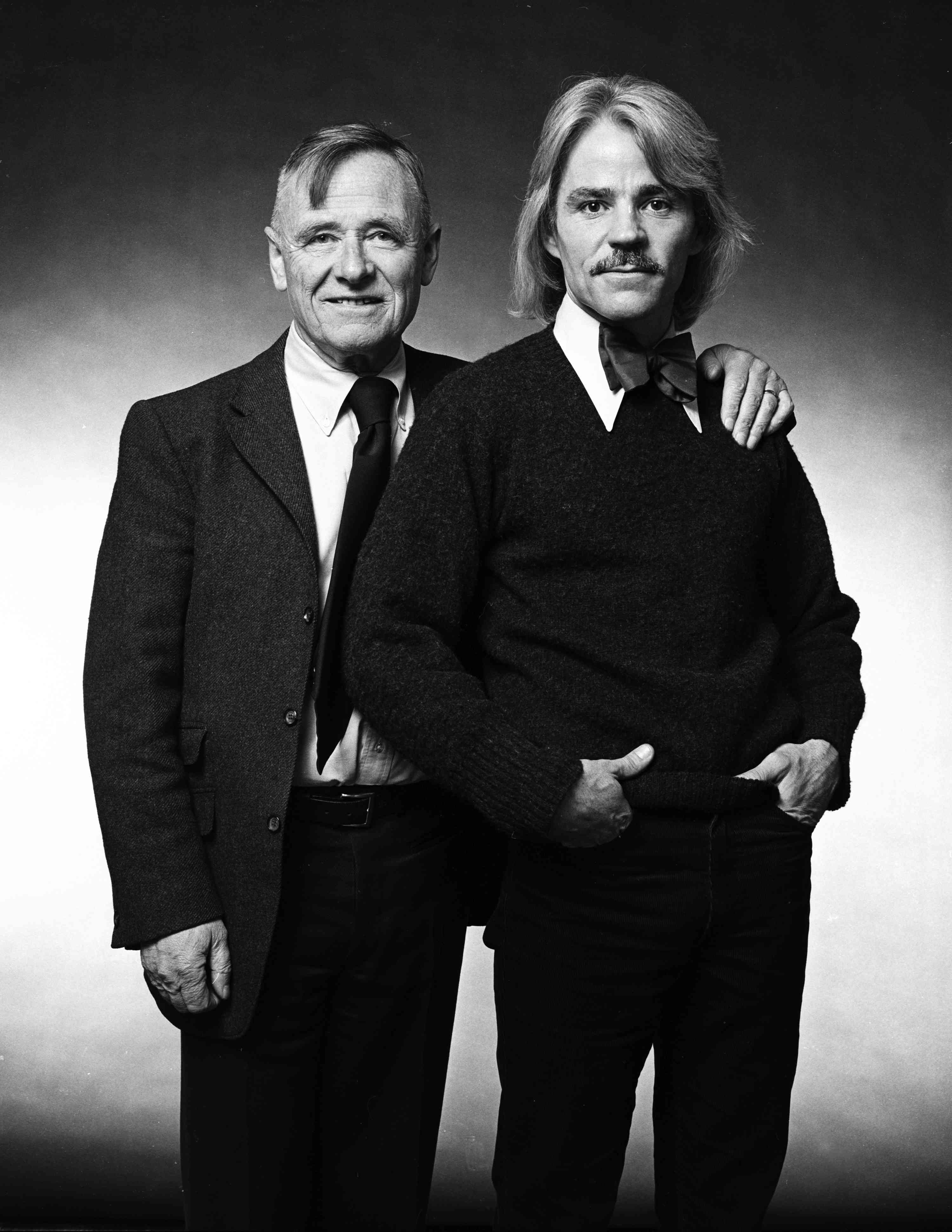 Christopher Isherwood and Don Bacardy