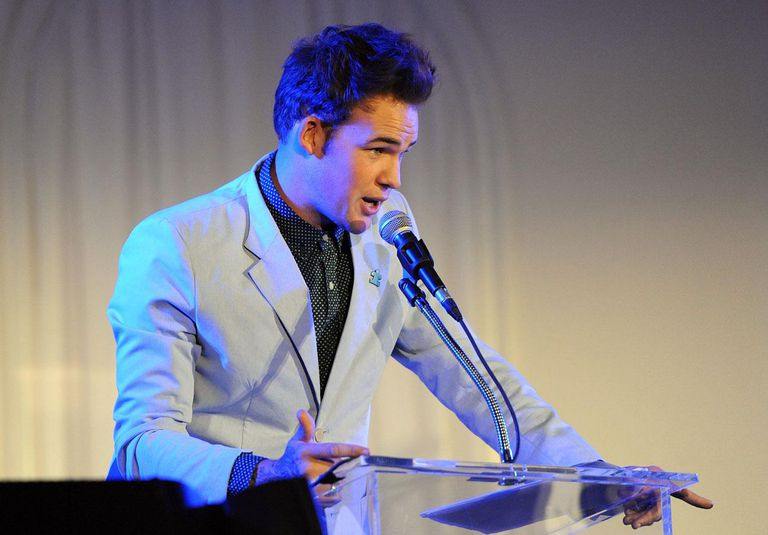 Singer James Durbin on stage at Autism Speaks' 3rd Annual 'Blue Jean Ball'
