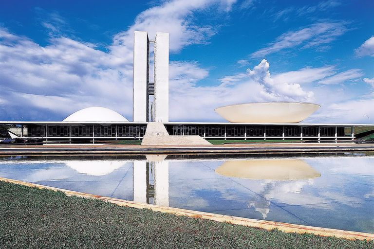 Congresso Nacional, Brasilia, Brazil
