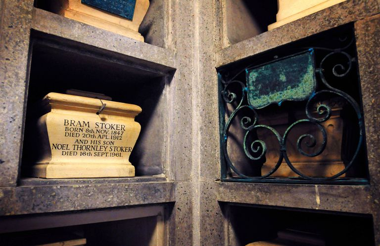 The Last Resting Place Of Irish Writer Bram Stoker