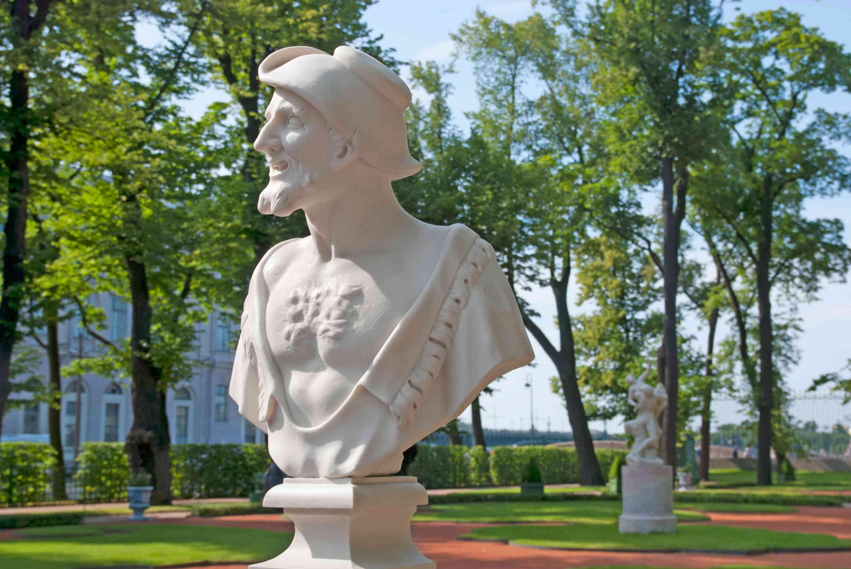 Bust of Democritus by Orazio Marinali