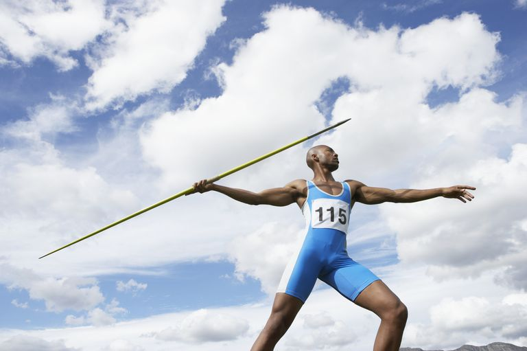Man Throwing a Javelin