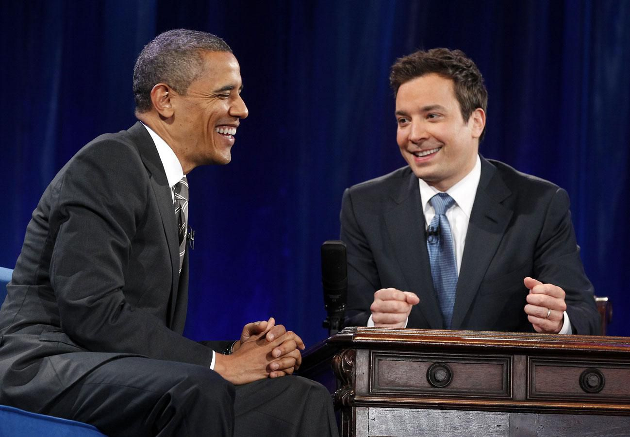 Funny Late-Night Jokes about Obama
