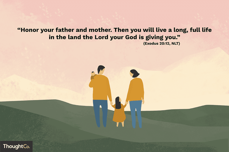 25 Bible Verses About Family