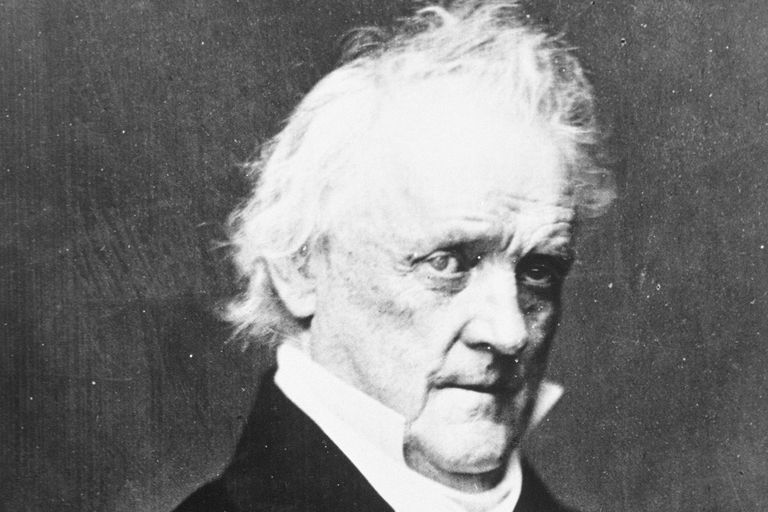 Portrait of James Buchanan, who served as the nation's 15th president from 1791-1868.