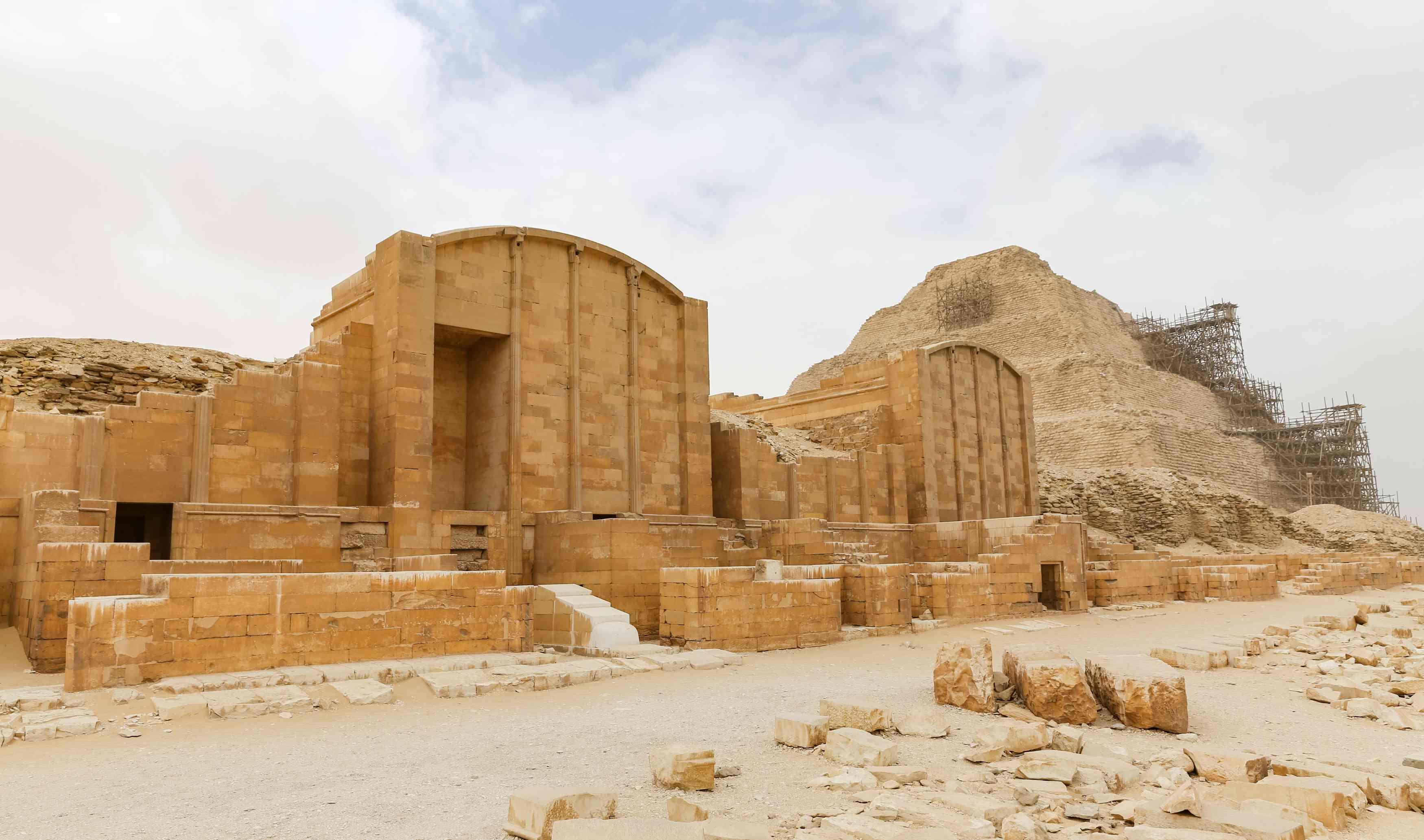 Old Kingdom Funerary Complex at Saqqara