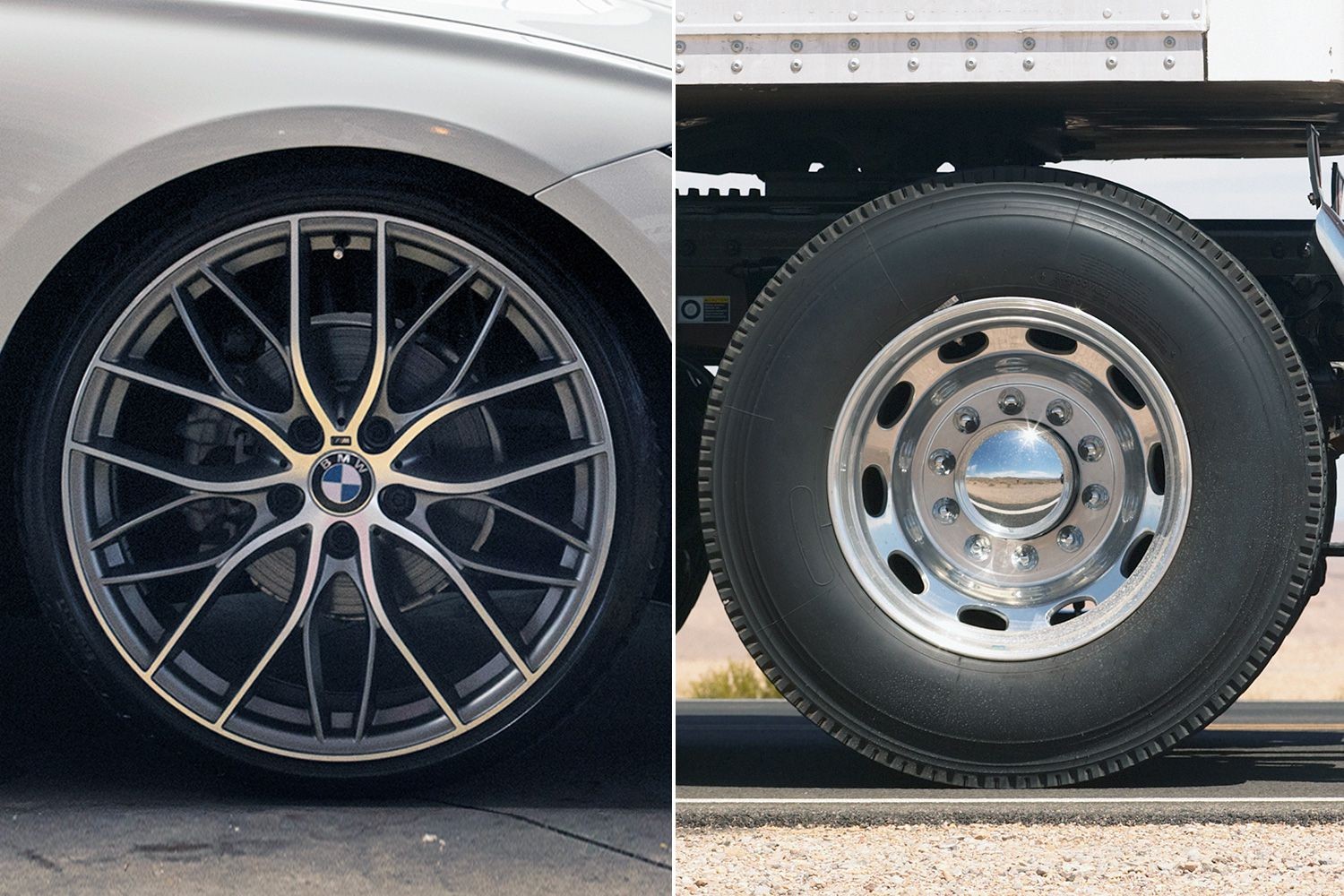 Alloy vs. Steel Wheels: Beauty and the Beast