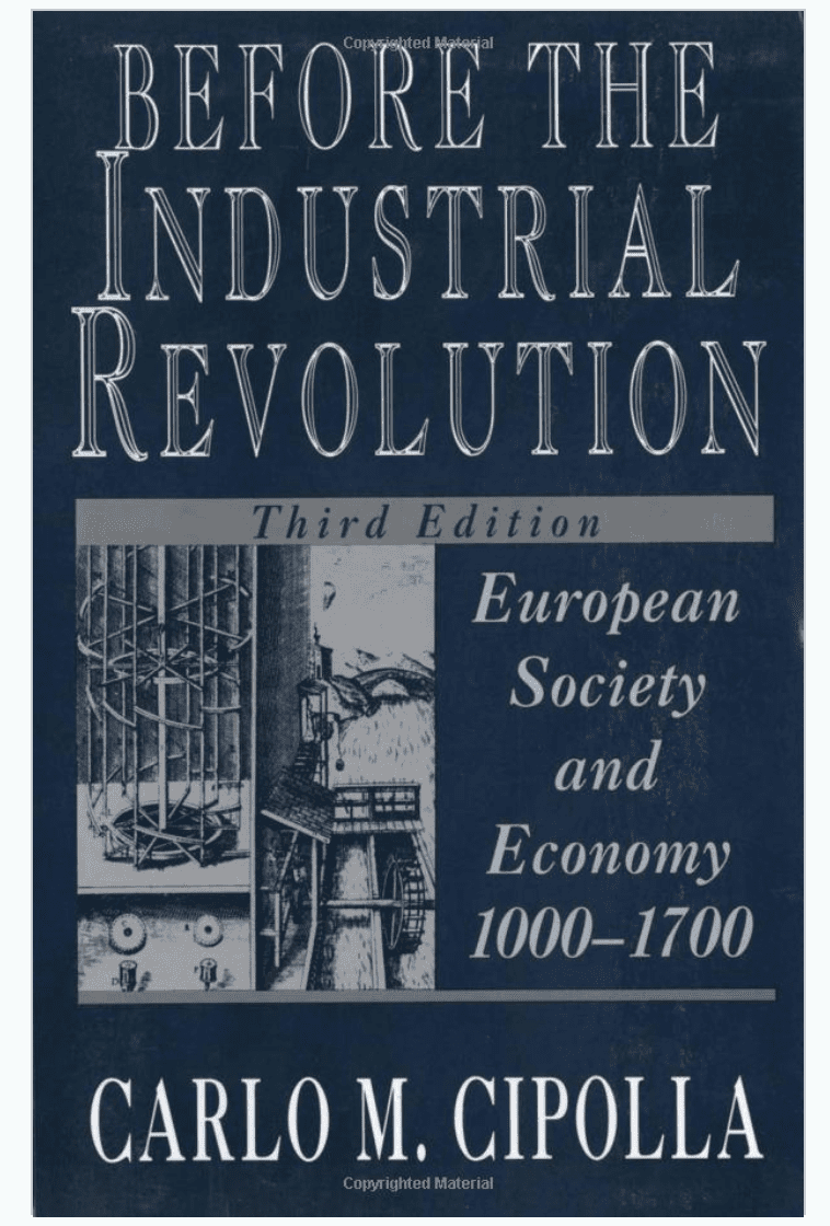 Before the Industrial Revolution: European Society and Economy