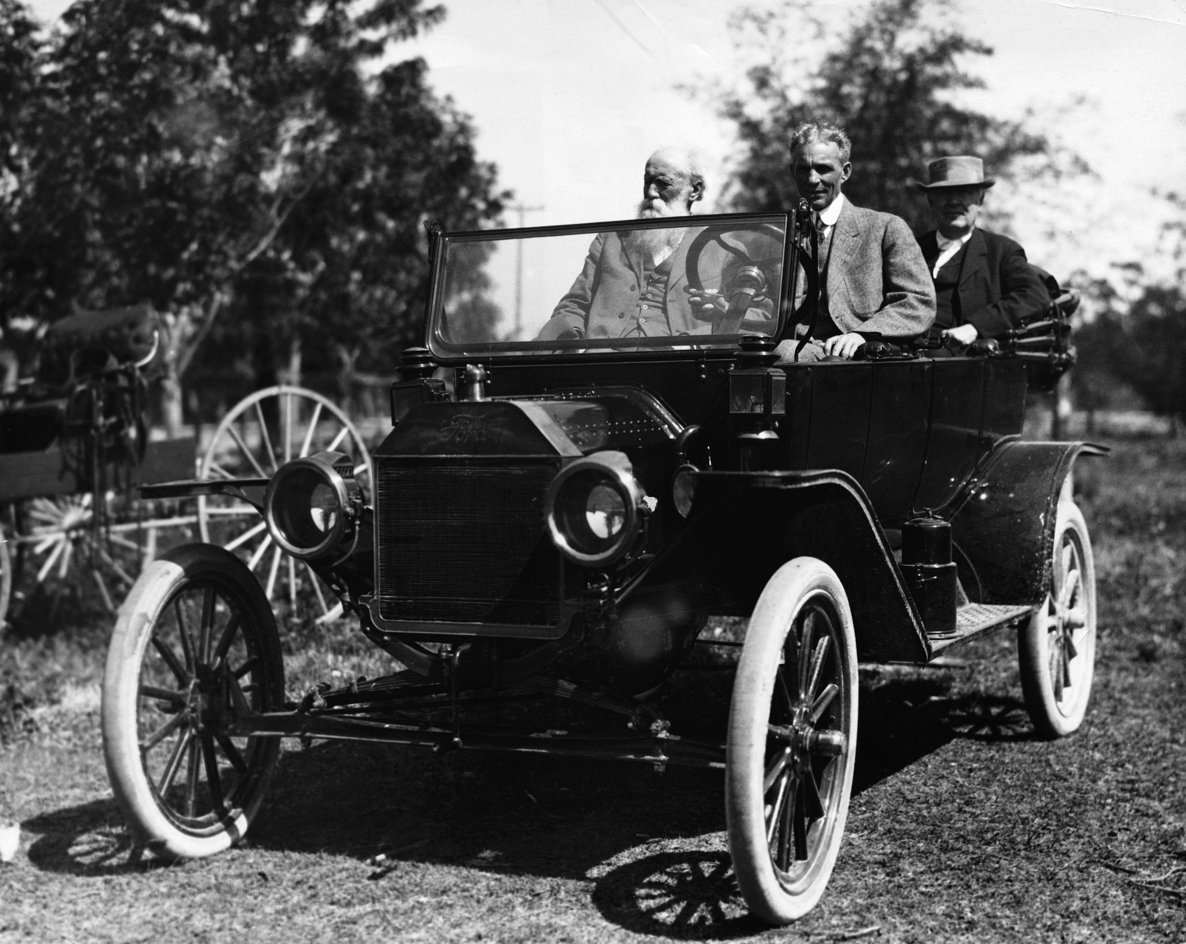 Henry Ford und Freunde in der T-Modell