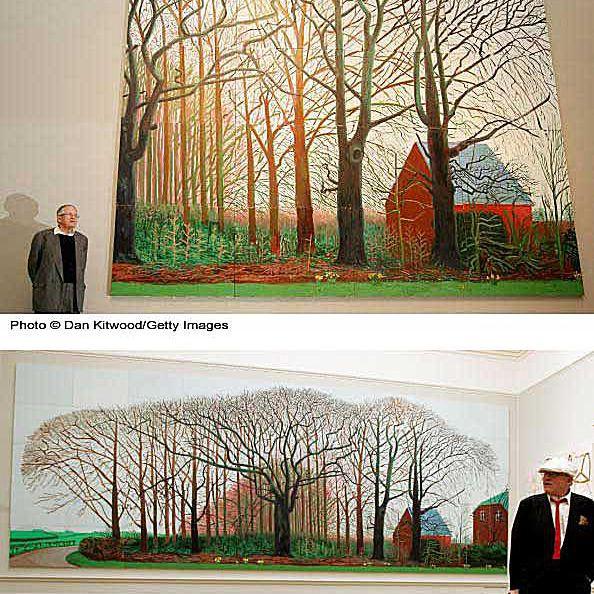 David Hockney Bigger Trees Near Warter