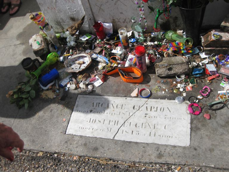 Alleged tomb of Marie Laveau