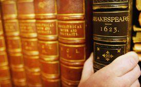 Volume of Shakespeare